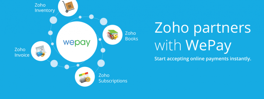 Online Payments Made Simple – Zoho Partners with WePay